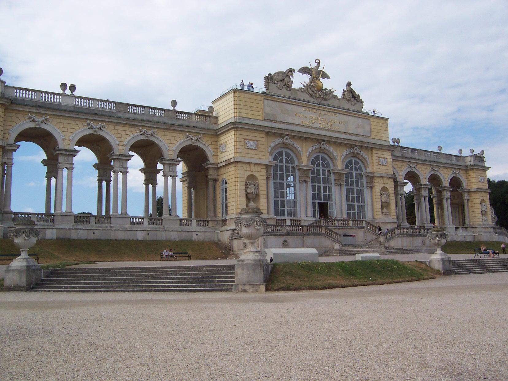 Viena - Parcul Schonbrun - Gloriete