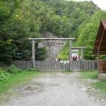 Reservatia Naturala Tesita - intrare