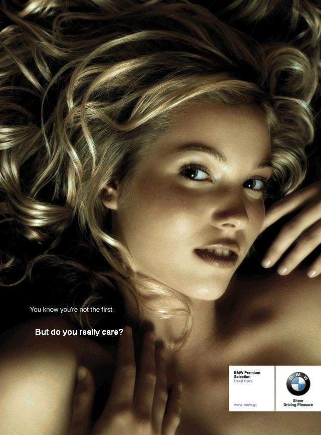 bmw second hand car ad