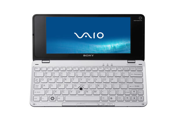 sony p series netbook