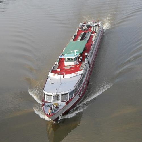 Vas de croaziera pe Dunare