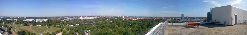 Karlsruhe panoramic 1and1