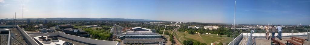 Karlsruhe panoramic 1and1