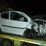 Accident Peugeot 107  2