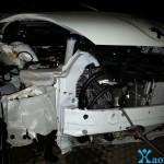 Accident Peugeot 107  3