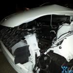 Accident Peugeot 107  5