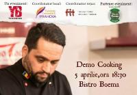 Demo cooking cu Mehrzad Moghazehi